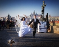 film your own wedding standard package + camerman